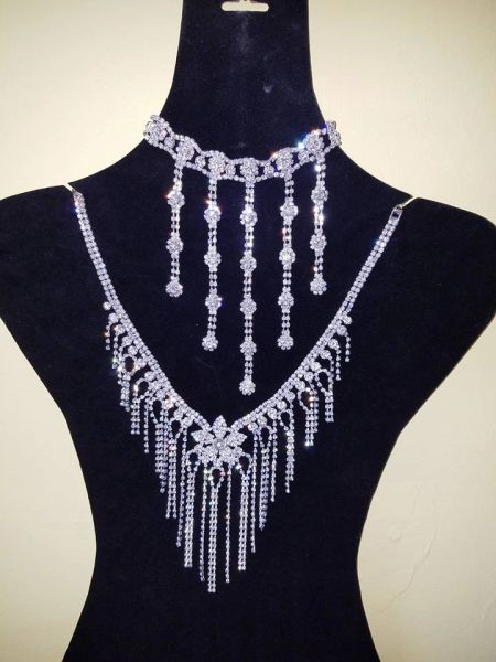 Zicornia Neck and Back Jewelry Set