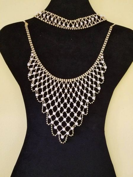 Pearl Back and Neck Set