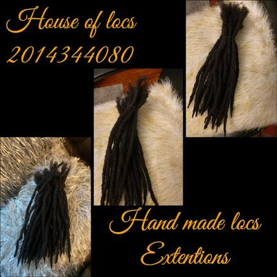 Locs extentions prices are varies depending on length and sizes