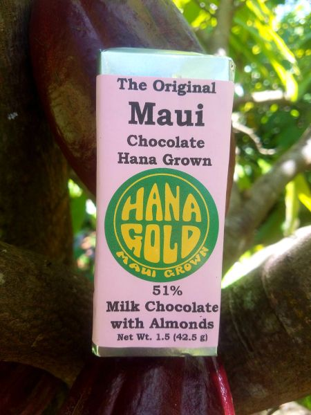 51% Milk Chocolate with Organic Almonds