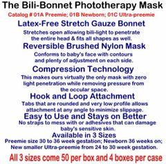 Small Beginnings Bili Bonnet Phototherapy Mask