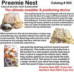 Small Beginnings Preemie Nestie