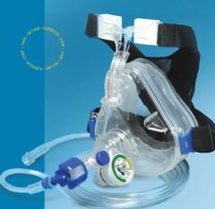 Mercury Medical CPAP, Flow Safe II with Deluxe Adult Large Mask, 5 per box