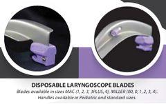 Intubrite Disposable Standard Blades, Box of 10