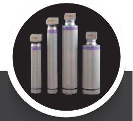 Intubrite Reusable Standard Optic Handles, (Medium, Pediatric, Stubby)