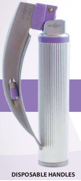 Intubrite Disposable Fiber Optic Laryngoscope Handle