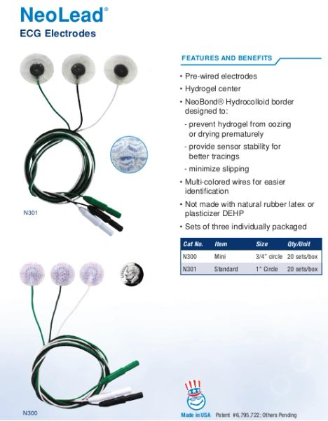 Neotech NeoLead Electrodes