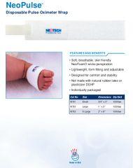 Neotech NeoPulse™ Disposable Pulse Oximeter Wrap