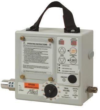 Ventilator, Allied EPV200 Emergency Preparedness Ventilator