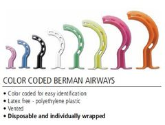 Resuscitation, Berman Airway Set, 10 each