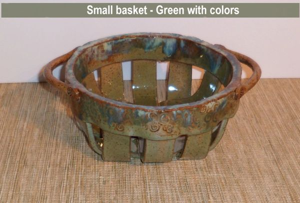 Pottery Baskets ($35.00 - $50.00)