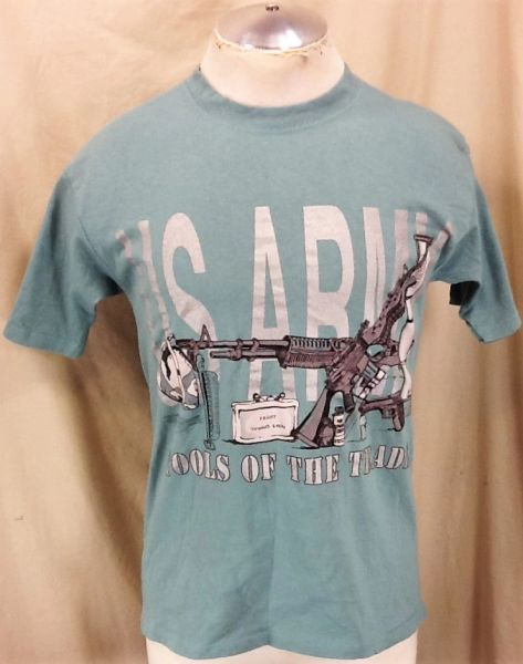 "Vintage United States Army ""Tools of the Trade"" (Medium) Armed Forces Graphic T-Shirt"