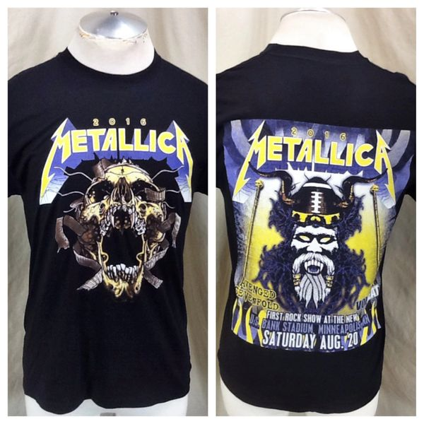 "2016 Metallica US Bank Sold Out Stadium Concert (Small) ""Screaming Skull"" First Rock Show"
