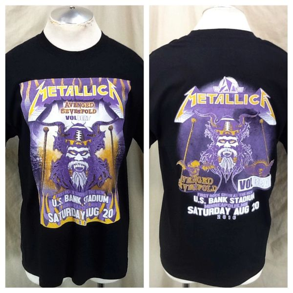 "2016 Metallica US Bank Sold Out Stadium Concert (Large) ""Angry Viking"" First Rock Show"