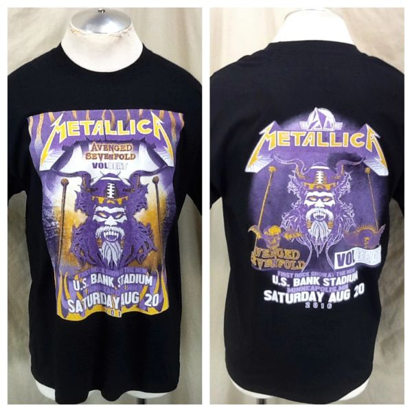 "2016 Metallica US Bank Sold Out Stadium Concert (Medium) ""Angry Viking"" First Rock Show"