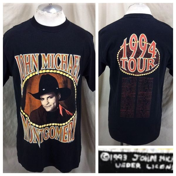 Vintage 1994 John Micheal Montgomery (Large) Retro Classic Country Tour Concert Shirt