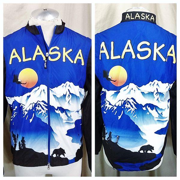 "Champion Systems ""Alaska Free Spirit"" (Small) Retro Zip Up Long Sleeve Cycling Jacket"