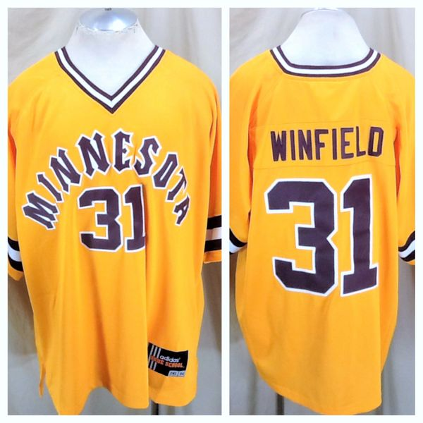 sports shoes f099f 52c73 VIntage Adidas Minnesota Gophers Dave Winfield #31 (54/2XL) NCAA Pullover  Baseball Jersey