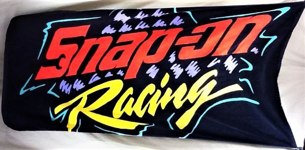 Snap On Tools Racing Gear Heads Graphic Beach Towel Wall Art