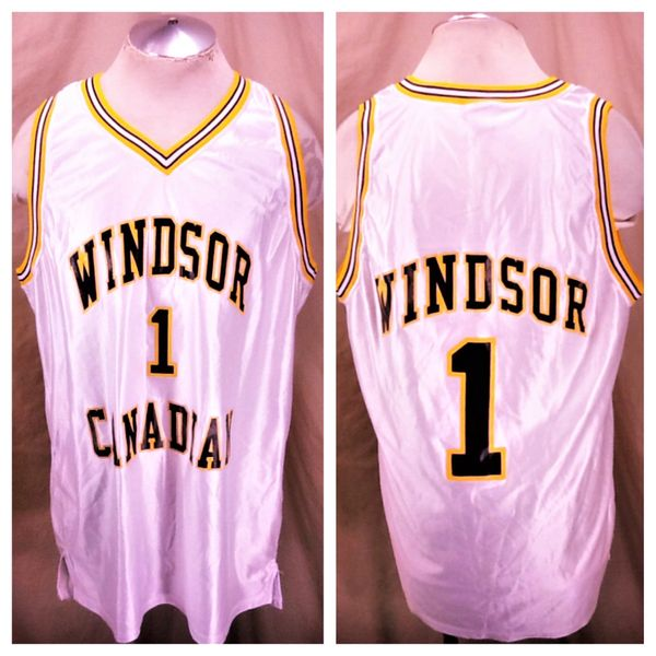 Vintage Wilson Canadian Windsor (XL) Blended Canadian Whiskey Graphic Basketball Jersey