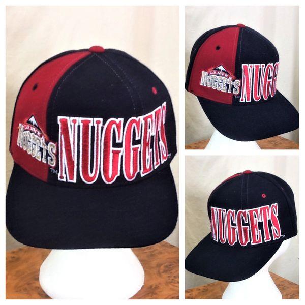 Vintage 90's Starter Denver Nuggets Retro NBA Basketball Embroidered Snap Back Hat