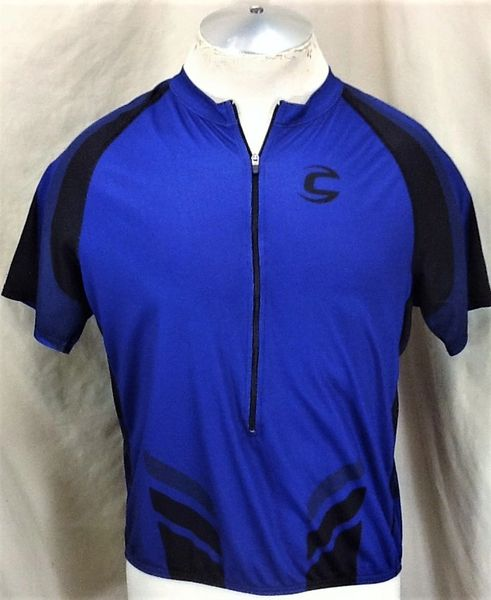 Cannondale Racing Cycling Team (XL) Retro Pullover 1/2 Zip Up Graphic Bike Jersey