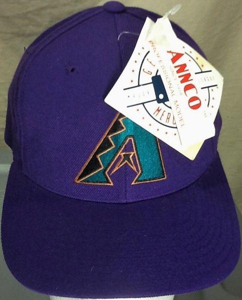 New! Vintage 90's Arizona Diamondbacks Baseball Club Retro MLB Snap Back Hat