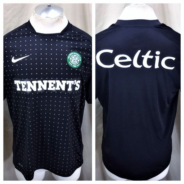 separation shoes 43b36 1e64f Nike Authentic The Celtic Futbol Club F.C. (Large) Dri-Fit Graphic Soccer  Jersey