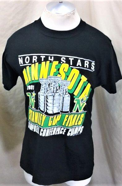 "Vintage 1991 Minnesota North Stars (Large) Retro ""Stanley Cup Finals"" NHL T-Shirt"