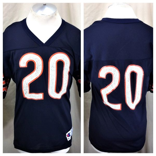 Vintage 90's Champion Chicago Bears #20 (Med/40) Retro NFL Football Graphic Jersey