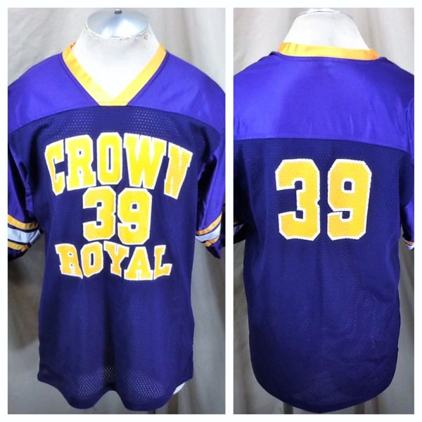 Authentic Crown Royal #39 Hard Liquor (XL) Stitched Graphic Football Jersey