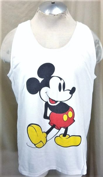 Vintage 90's Disney's Mickey Mouse (XL) Retro Classic Cartoon Graphic Tank Top