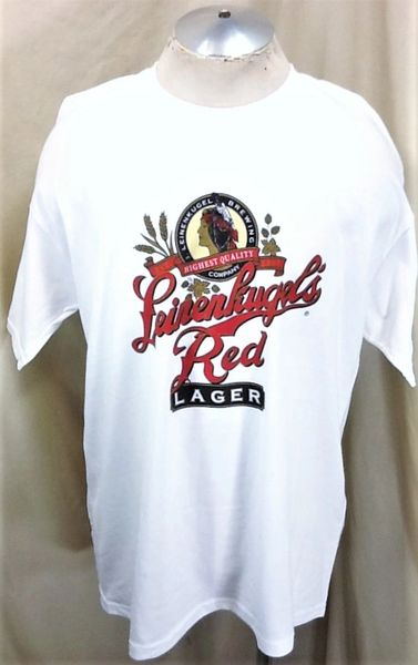 Vintage 90's Leinenkugel's Red Lager (XL) Retro Graphic Brewing Company T-Shirt