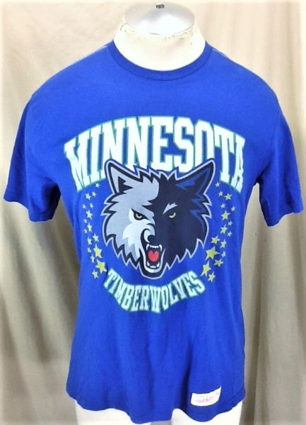 Mitchell & Ness Minnesota Timberwolves (Large) Retro Wolves NBA Basketball Shirt