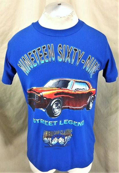 "Vintage 90's American Classic Collection (Medium) Retro ""Street Legend"" Graphic T-Shirt"