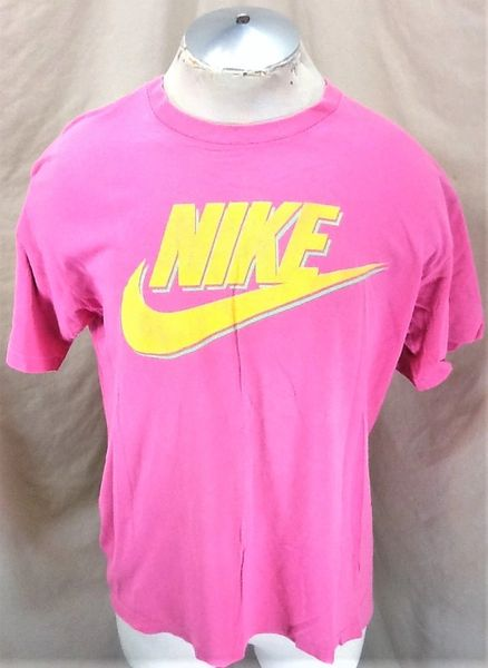 Vintage 90's Nike Classic Swoosh Logo (Large) Retro Hip-Hop Streetwear T-Shirt