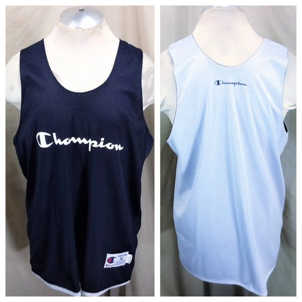 Vintage 90's Champion Basketball Practice (L/XL) Retro NBA Reversible Work Out Jersey
