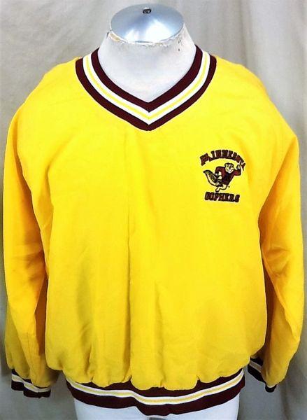 Vintage 1980's Bike Minnesota Golden Gophers (XL) Retro NCAA Classic Logo Pullover Nylon Jacket