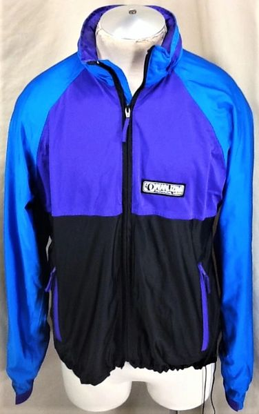 Pearl Izumi Technical Wear Cycling Team (Large) Retro Long Sleeve Zip Up Biking Jacket