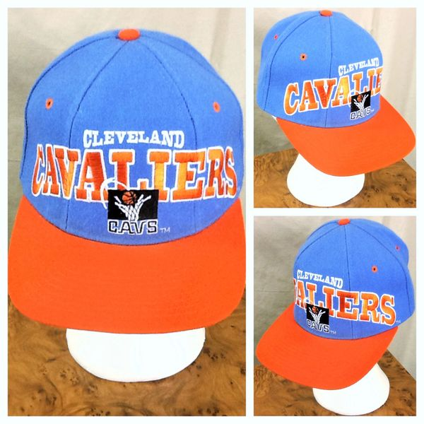 Vintage 90's Starter Cleveland Caveliers NBA Basketball 100% Wool Retro Snap Back Hat