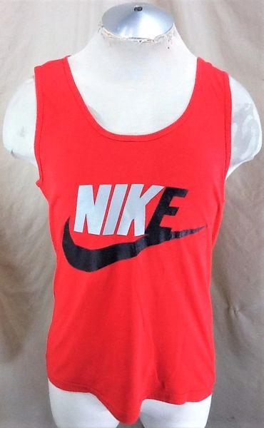 Vintage 90's Nike Swoosh Big Logo (Large) Retro Hip Hop Graphic Tank Top Shirt