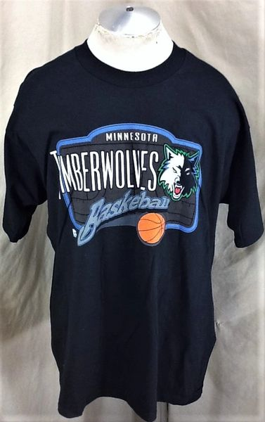 Vintage Pro Player Minnesota Timberwolves (XL) Retro NBA Basketball Wolves Graphic Shirt