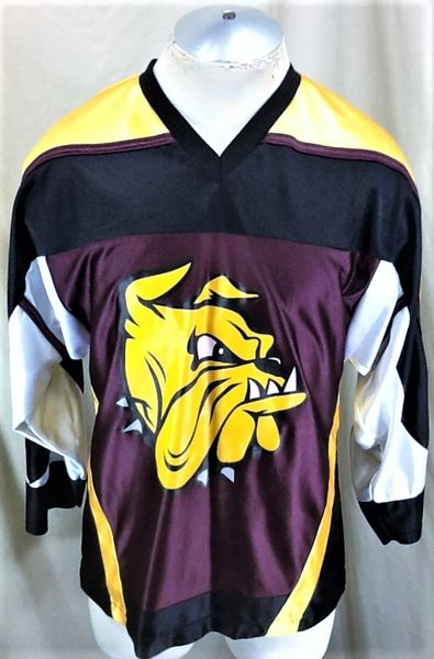 Vintage K1 UMD Minnesota Duluth Bulldogs (Small) Retro WCHA Graphic Hockey Jersey