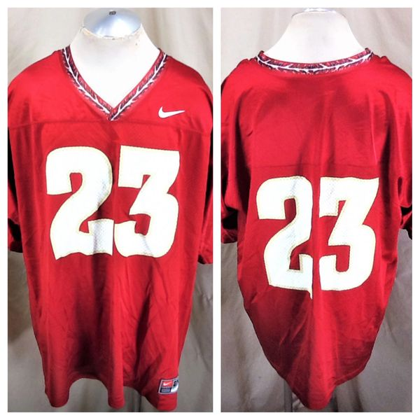 Vintage Nike Florida State Seminoles #23 (2XL) Retro NCAA Graphic Football Jersey