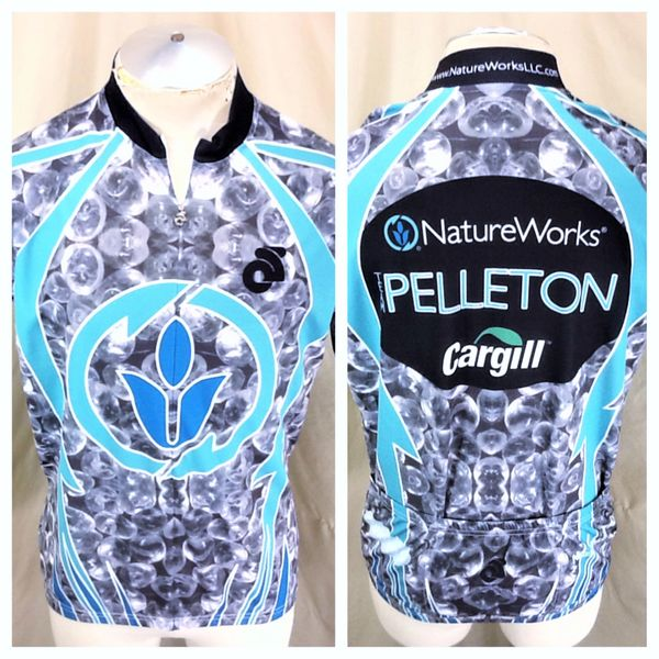 Champion Systems Nature Works & Cargill (XL) Retro 1/2 Zip Up Graphic Cycling Jersey