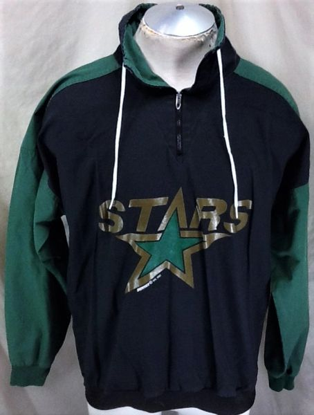 Vintage 1992 Minnesota North Stars Hockey (Large) Retro NHL Pullover Light Weight Jacket