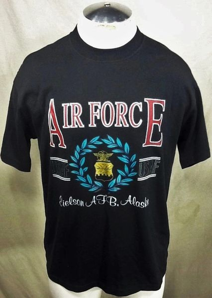 Vintage United States Air Force (Large) Retro Armed Forces Graphic T-Shirt