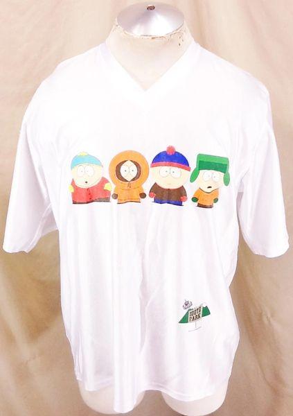 Vintage 1998 Comedy Central's South Park (XL) Matt Stone & Trey Parker Nylon Shirt