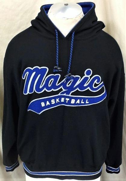 Vintage 90's Starter Orlando Magic (Medium) Retro NBA Basketball Hooded Sweatshirt