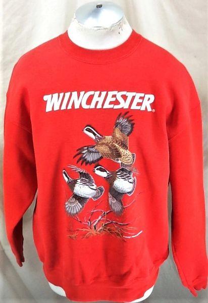 Vintage 1993 Winchester Hunting Outdoorsman (XL) Graphic Crew Neck Sweatshirt